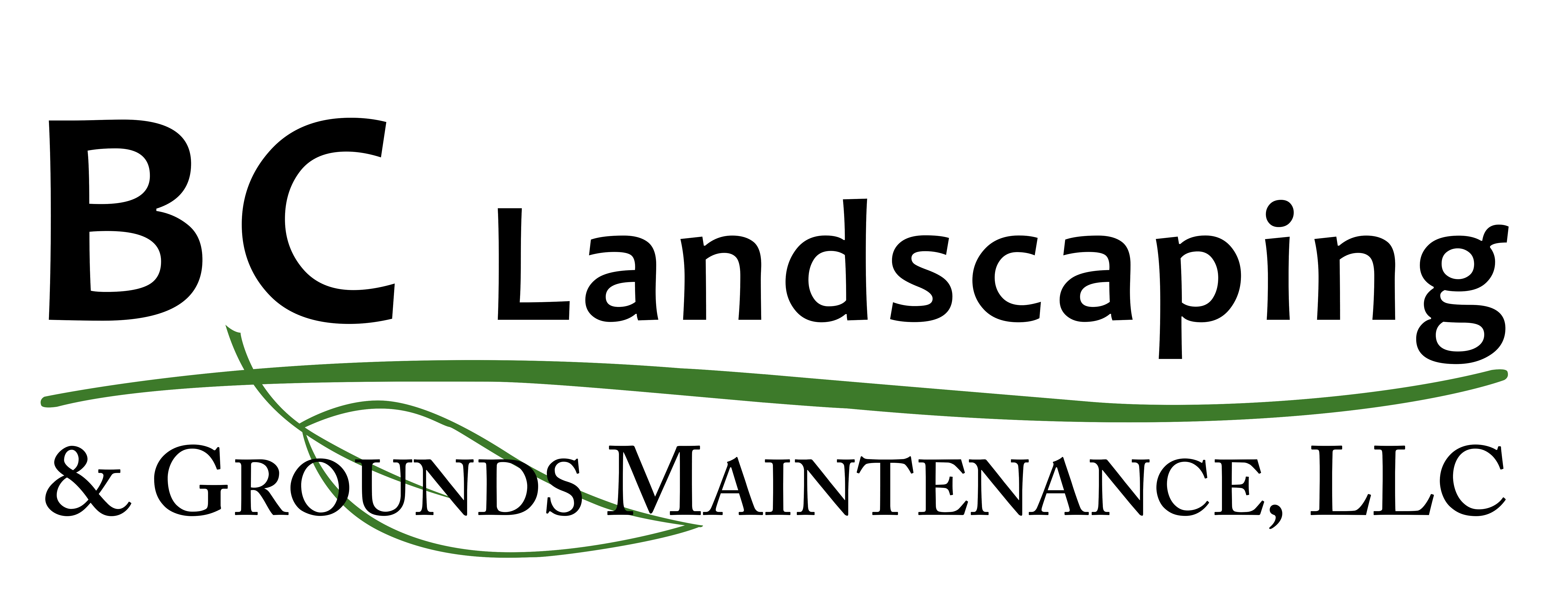 BC Landscaping PNG Logo